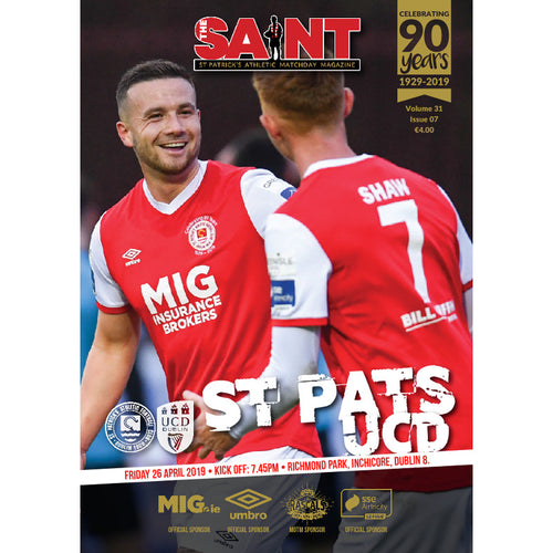The Saint: Matchday Magazine Volume 31 Issue 7