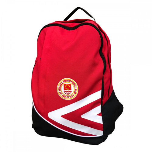 Travel Backpack - Red, White and Black