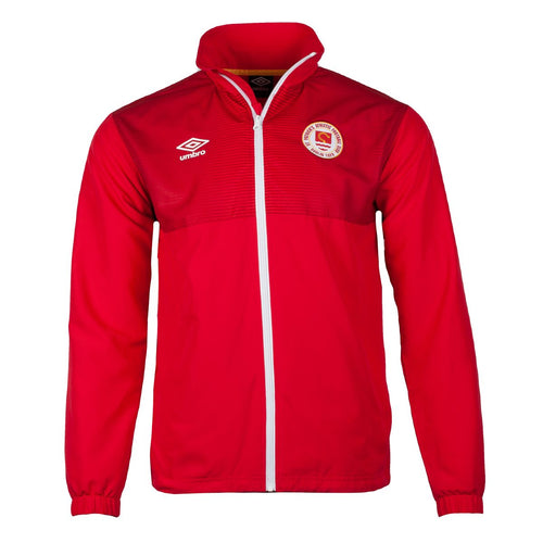 2021 St Patricks Athletic F.C. Walk Out Jacket - JUNIOR (H) - Red - Youths