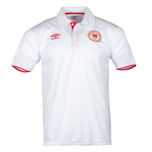 2021 St Patricks Athletic F.C. Players Travel Polo - White - Men