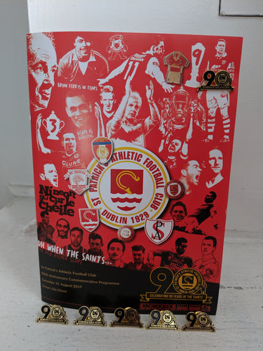 90th Anniversary Pin Badge and Commemorative Programme
