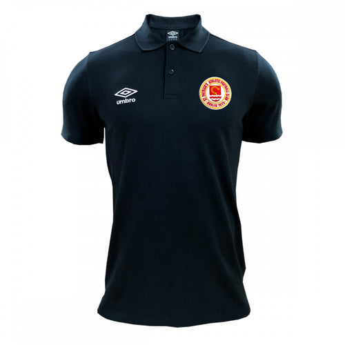 2020 Polo Shirt - Black - Adults