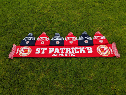 St Pat's Winter Scarf and Bobble Hat