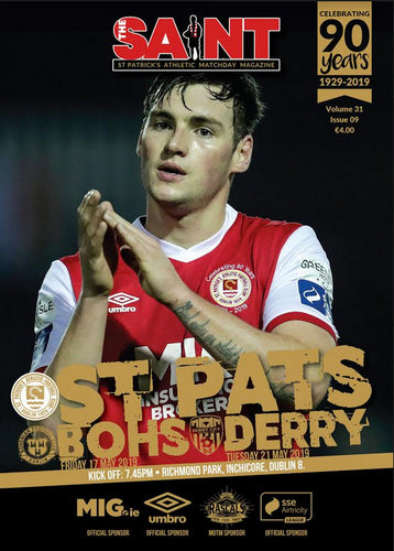 The Saint: Matchday Magazine Volume 31 Issue 9