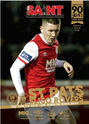 The Saint: Matchday Magazine Volume 31 Issue 6