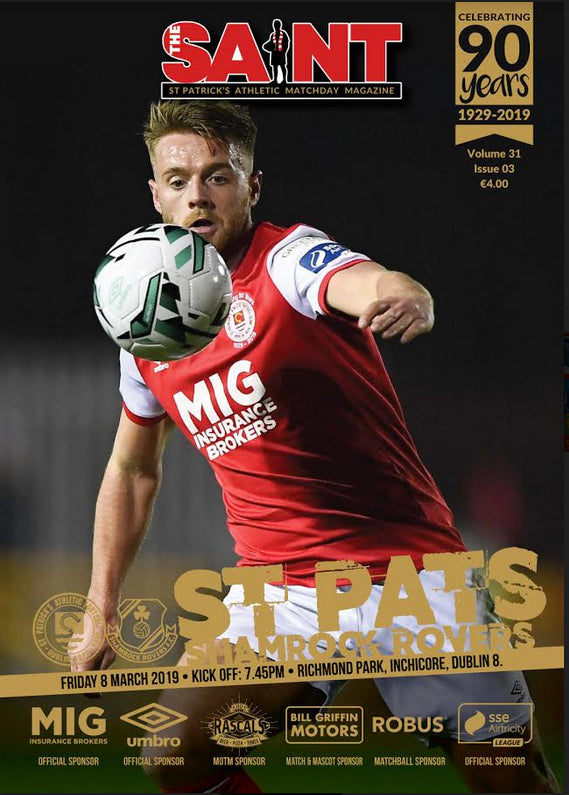 The Saint: Matchday Magazine Volume 31 Issue 3