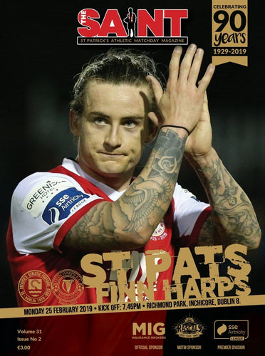 The Saint: Matchday Magazine Volume 31 Issue 2