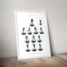 Limited Edition 2014 FAI Cup Final Subbuteo Prints