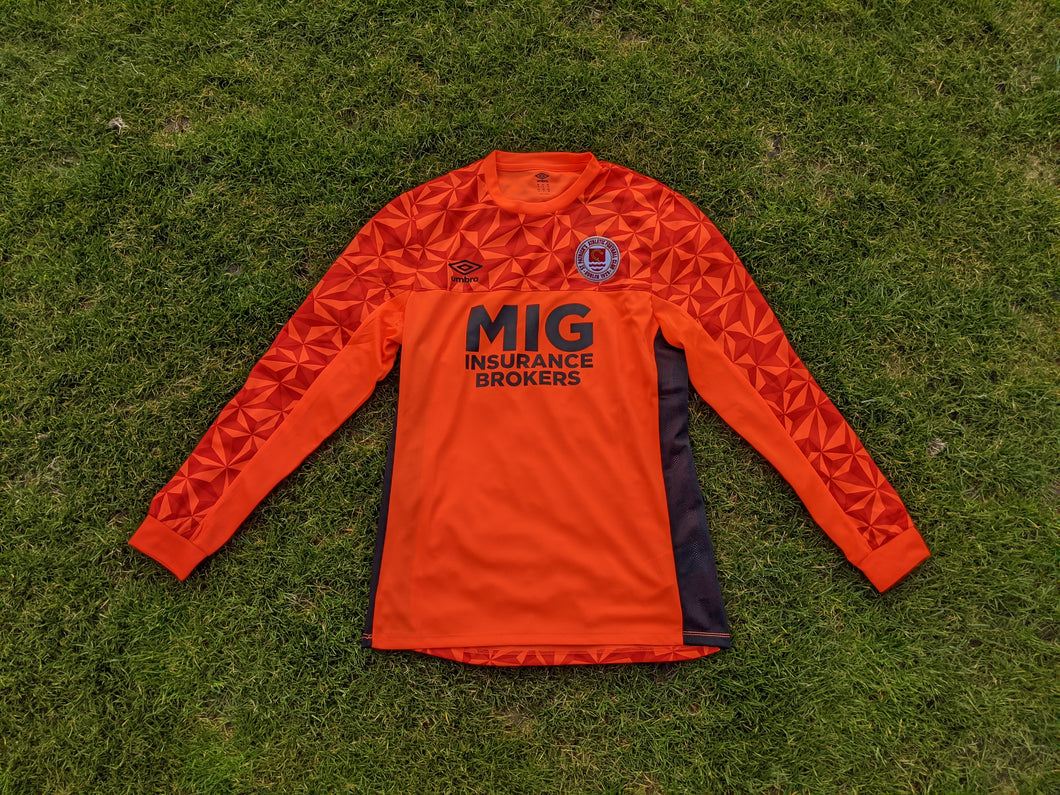 2020 Season Orange Goalkeepers Jersey - Adult