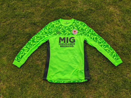 2020 Green Goalkeepers Jersey - Kids