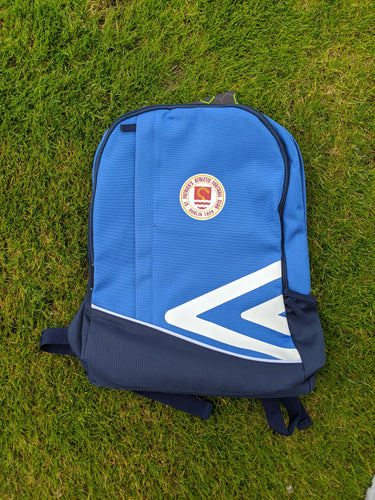 St Pats Travel Backpack - Light Blue and Navy