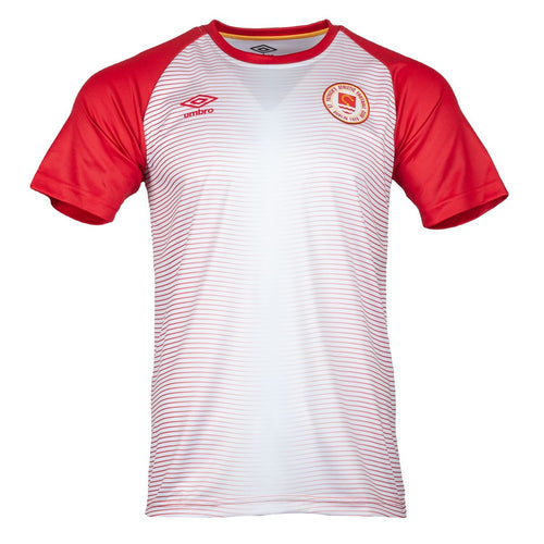 2021 St Patricks Athletic F.C. Warm Up Jersey - JUNIOR (H) - White / Red