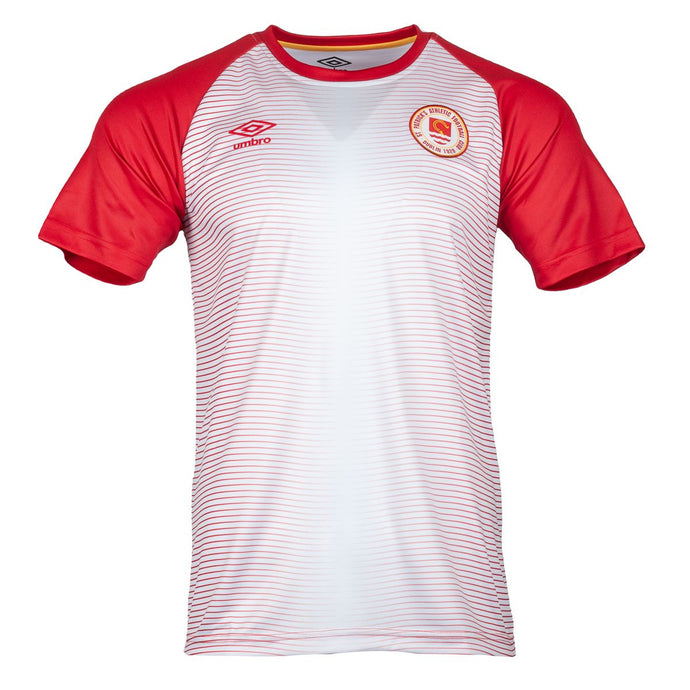 2021 St Patricks Athletic F.C. Warm Up Jersey (H) - White / Red - Men