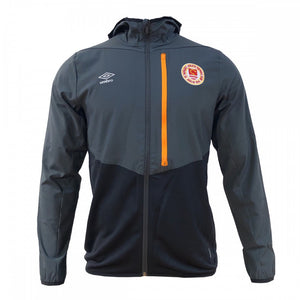 Training Hooded Jacket - Carbon/Black - Adults
