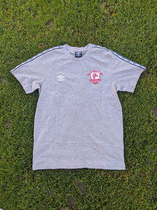 2020 - Retro Taped Tee - Grey- Adults