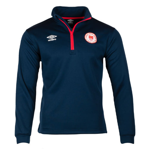 2021 St Patricks Athletic F.C. - Warm up 1/4 Zip - Navy - Men
