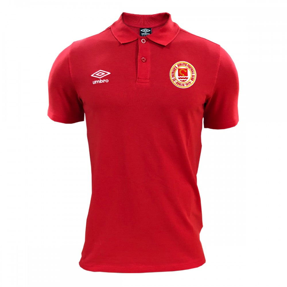 2020 Polo Shirt - Red - Adults
