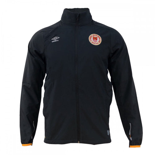 Training Shower Jacket - Black- Adults