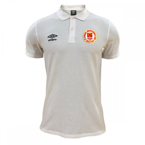 2020 Polo Shirt - White - Adults