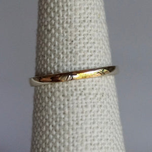 Gold Simple Band