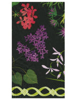 Mary Delaney Flower Mosaic Guest Towel
