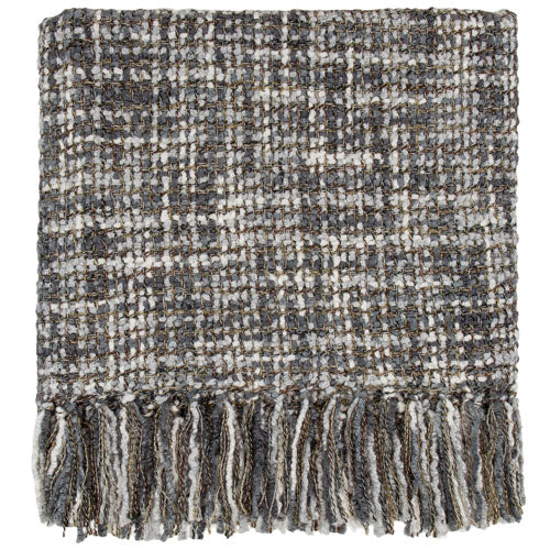 Hanover Charcoal Throw