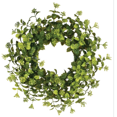 Boxwood Accent Wreath