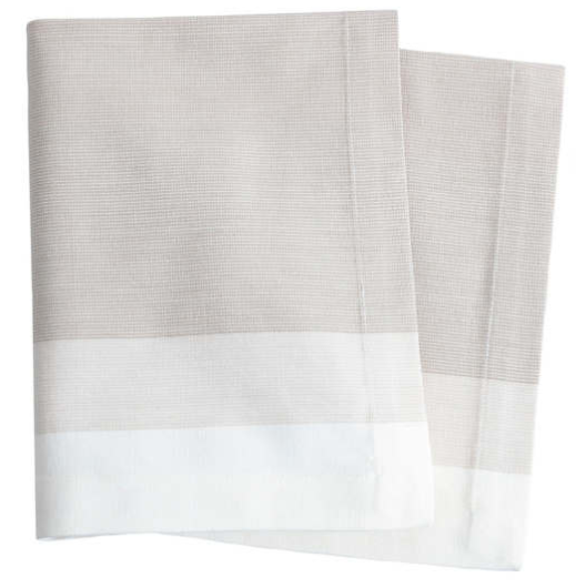 Cafe Stripe Platinum Napkin