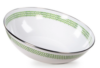 Green Scallop Catering Bowl