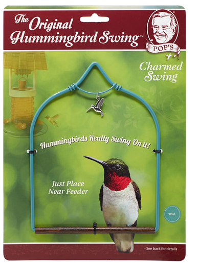 Humming Bird Swing Teal