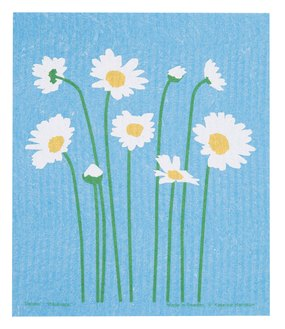 KH Daisy Garden Swedish Dishcloth