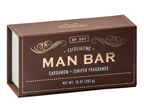 Man Bar - Cardamom - Juniper Fragrance