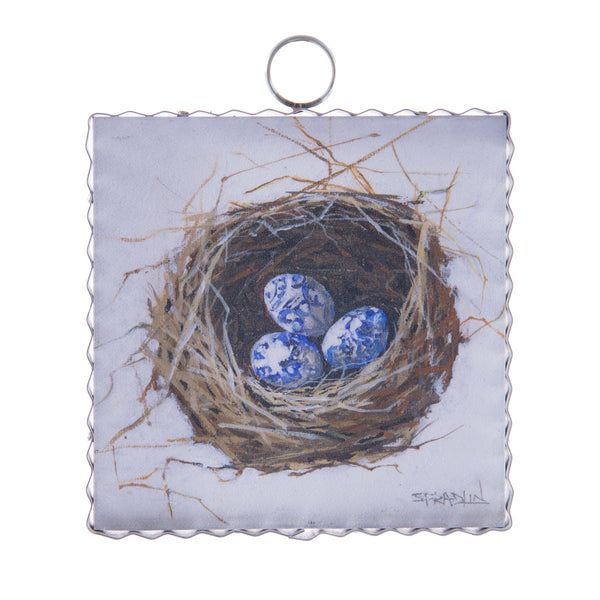 Mini Gallery Nest of Blue Eggs