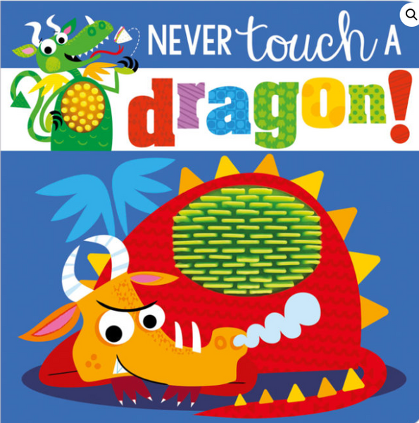 Never touch a dragon book