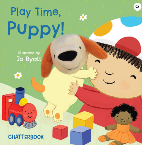 Play Time, Puppy Book