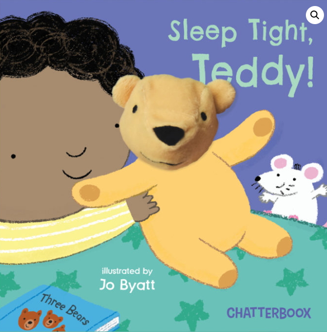 Sleep Tight, Teddy Book