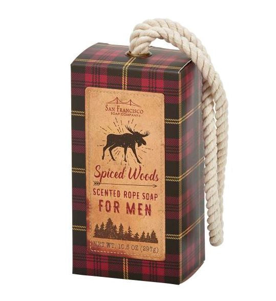 Spiced Woods Rope Soap
