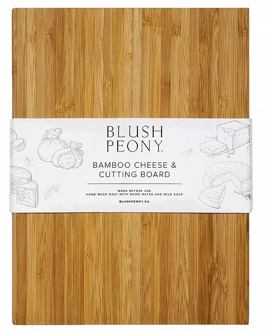 Bamboo Cheese & Cutting Board