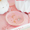 Pink Dotted Trinket Tray