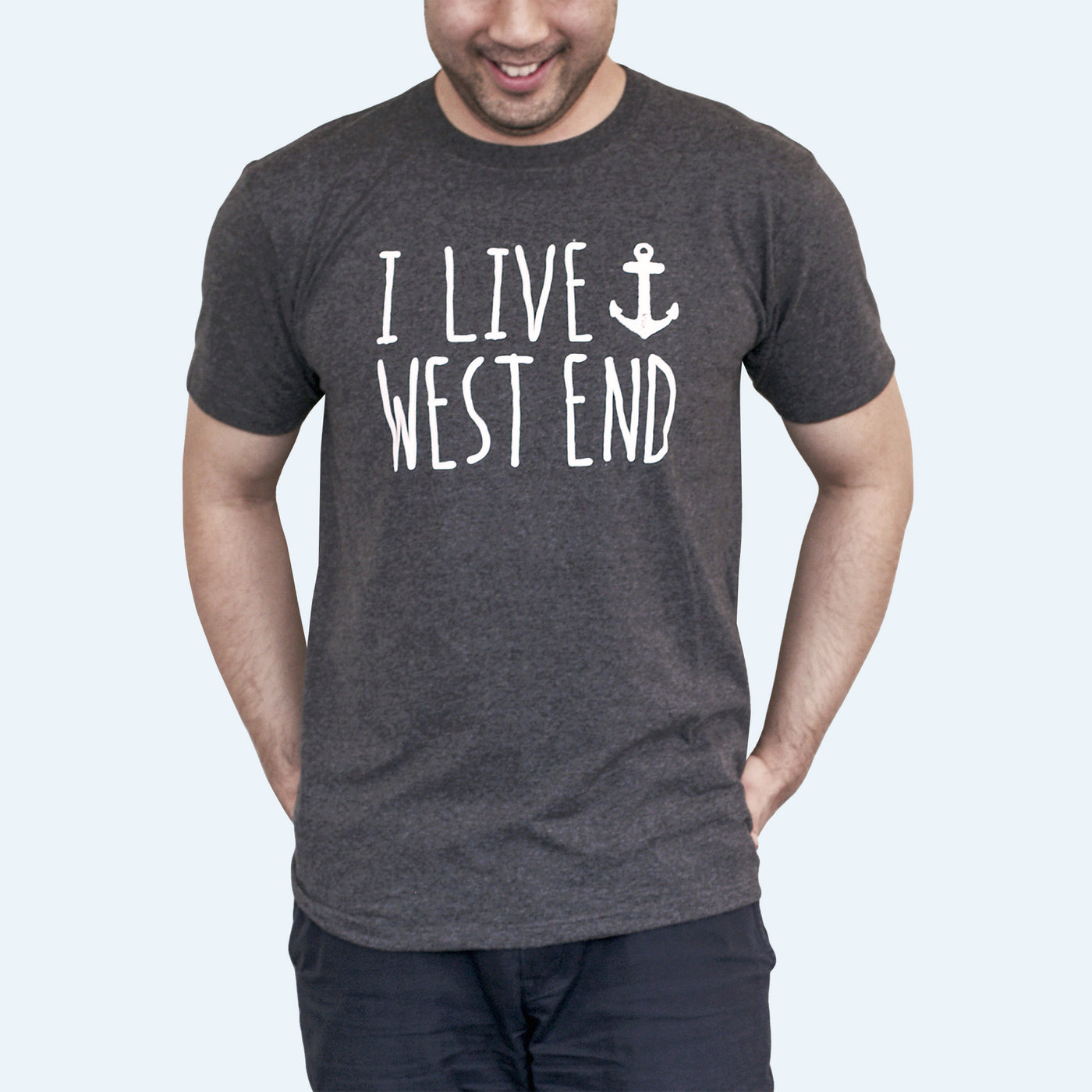 Love Where You Live – Short-sleeve Men's T-shirt