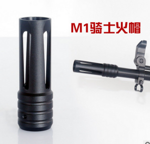 M4A1 full metal flash hider 19mm fit in