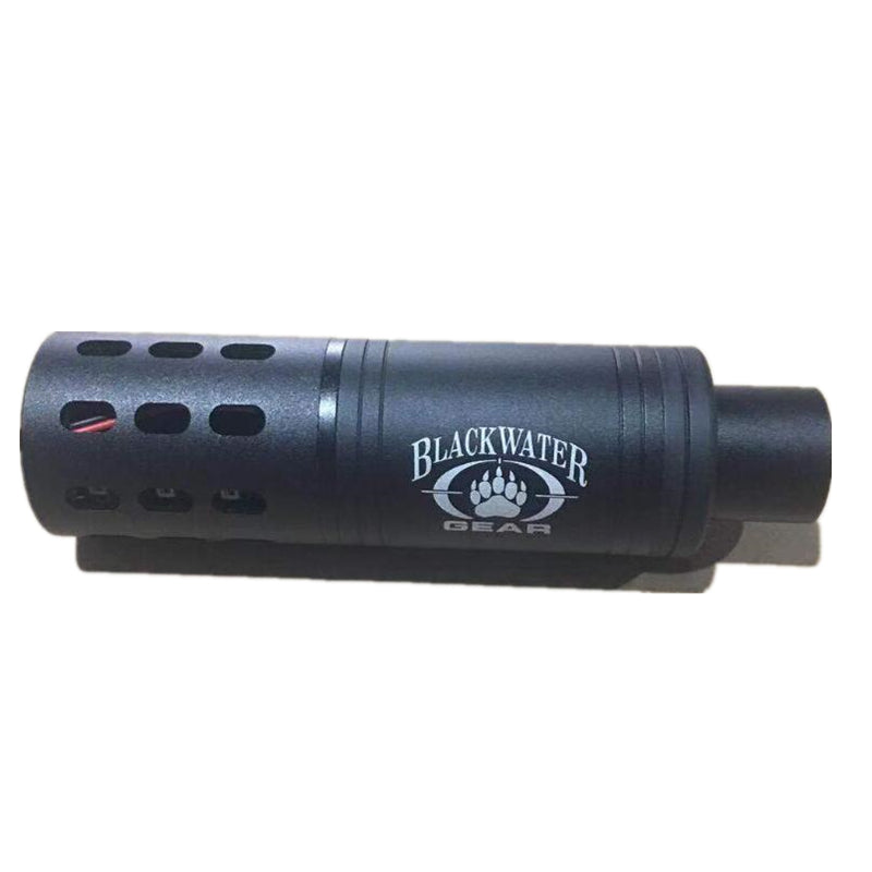 Full metal silencer flash hider electric fire flash gel blasters upgrade