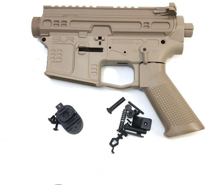 SLR Full nylon gel blasters receiver TAN color