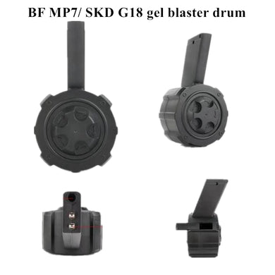 BF MP7/SKD G18 gel blaster drum magazine