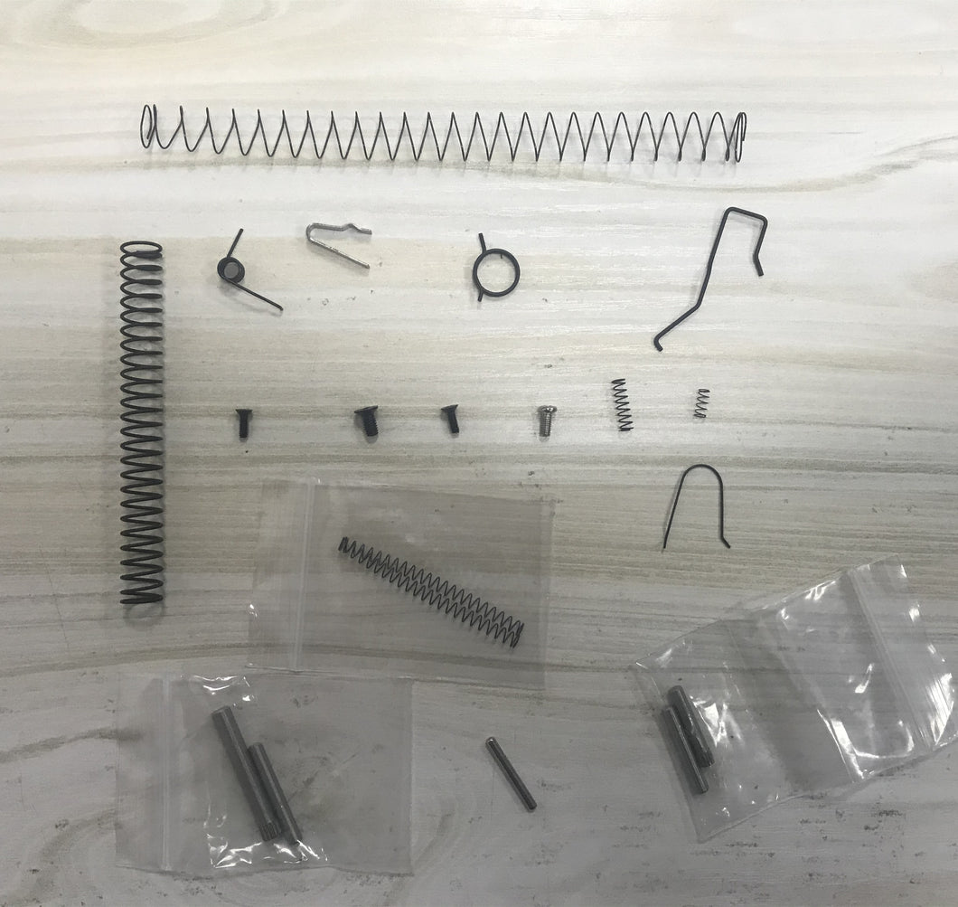 KUBLAI P1 Gel blaster full spring/screw/bolt carbon steel kit for upgrade