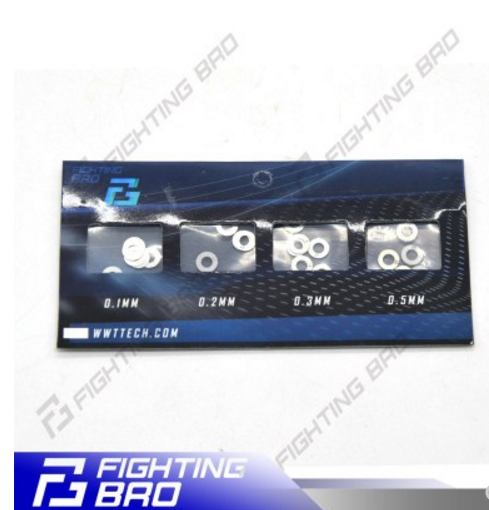 Frighting BRO 0.1mm 0.2mm 0.3mm 0.5mm shim kits set