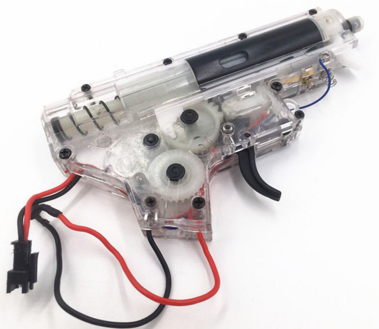 Well M4 gel ball blaster gearbox