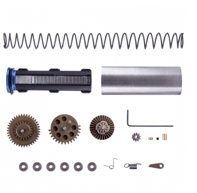 Well M4 blaster gearbox upgrade kits