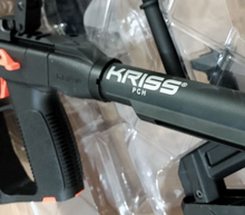 Kriss vector V2 gel blasterfull nylon buffer tube adapter