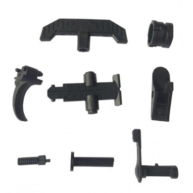 RX AKM47 gel ball  blaster full black replace accessories